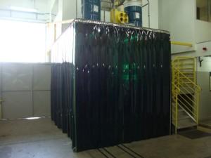 Cortina de PVC Solda