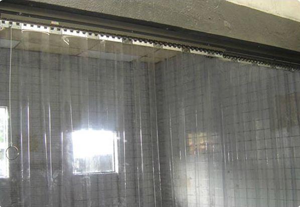 Cortina de PVC para Câmara Fria  Cortinas de PVC Polar