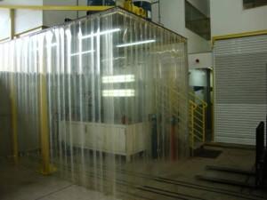 Cortinas de PVC Flexivel transparente