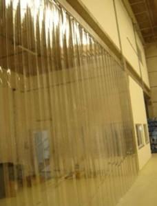 Cortina de PVC para Câmara Fria