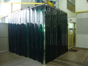 Cortinas em PVC Divisão de ambientes