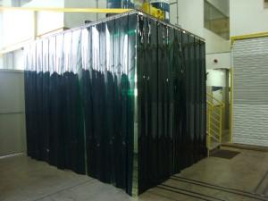 Cortina de PVC para Solda