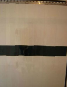 cortina de pvc sinalizadora