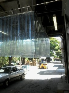 cortina em pvc solda