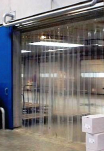 cortina em pvc mercado