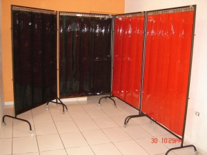 cortina em pvc para solda