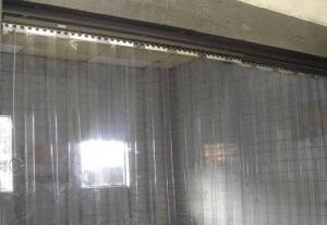 cortina em pvc transparente