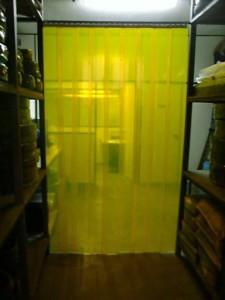 cortina pvc anti inseto