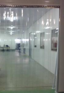cortina pvc standard transparente
