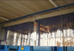 cortinas de pvc em serie