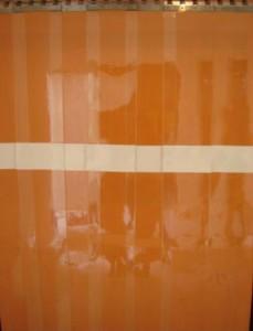 cortinas de pvc sinalizadora