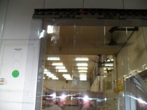 cortina de pvc geladeira