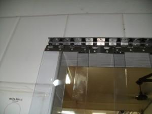 cortina de pvc para açougue