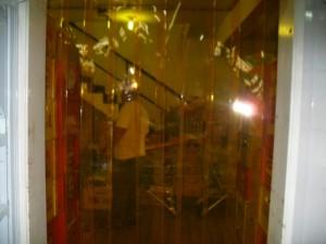 cortina de pvc tiras