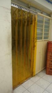 Cortina de PVC Anti Inseto