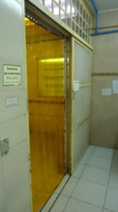 Cortinas de PVC protege de Inseto