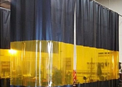 cortina de pvc para pintura