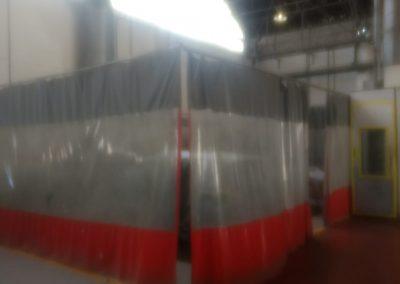 cortina pvc divisao de ambientes