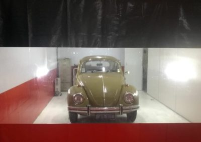 cortina cabine de pintura e lavagem de carro