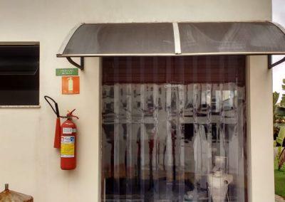 cortina de pvc de porta