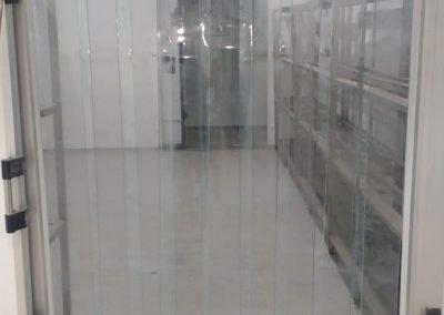 cortina de pvc em tiras industrial