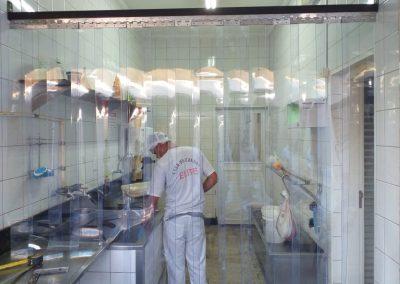 cortina de pvc para camara fria frigorifico e casa de carne