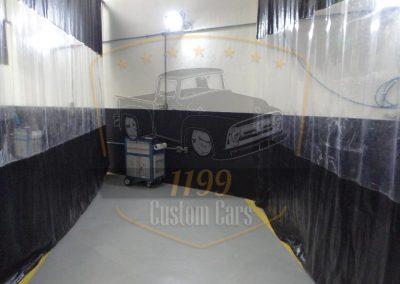 cortina pvc para lavagem de carros e cabine de pintura